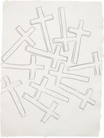 Andy Warhol, 'Crosses', ca. 1981-1982.