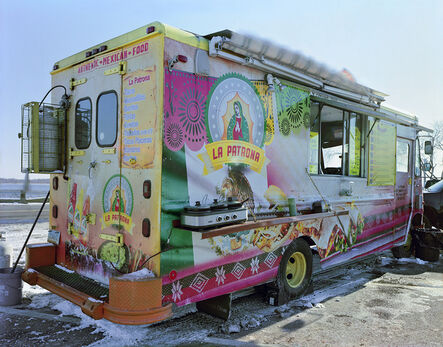 Jim Dow, 'La Patrona Taco Truck, Long Wharf, New Haven, Connecticut', 2015