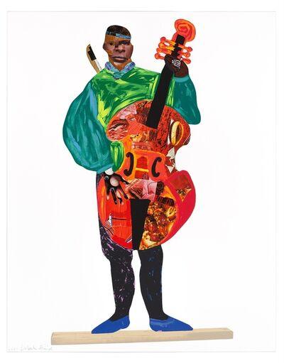 Lubaina Himid, 'Naming the Money: Kwesi, 2004/2021 ', 2001