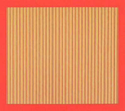 Yaacov Agam, 'Agam 1971 Kinetic Op Art Print signed and dated', 1970-1979