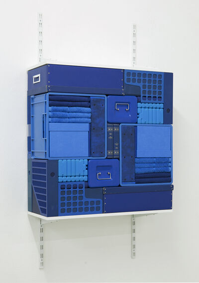 Michael Johansson, 'Flip Shelf (blue) ', 2018