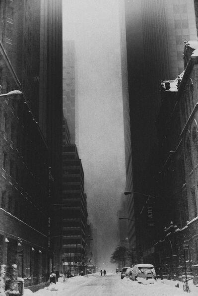 Bastiaan Woudt, 'Blizzard I, New York', 2016