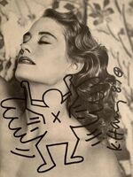 Keith Haring, 'Flying Angel', 1987