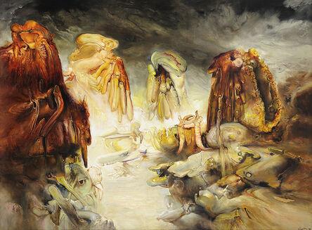 James Gleeson, 'Aspiring Echoes', 1999