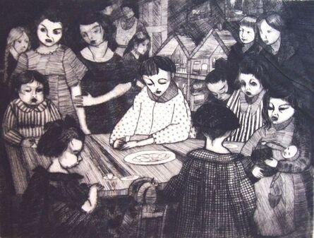 Peggy Bacon, 'Day-Nursery', 1918