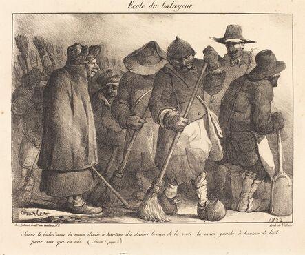 Nicolas-Toussaint Charlet, 'Ecole du balayeur', 1822