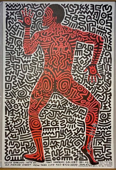 Keith Haring, 'Keith Haring Into 84. Tony Shafrazi Gallery, Dec 03 ', 1984