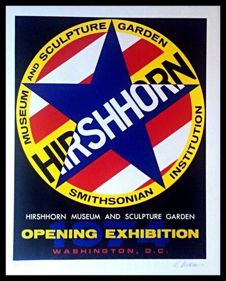 Robert Indiana, 'Hirshhorn Museum & Sculpture Garden Opening Exhibition (Signed & Numbered Edition)', 1974
