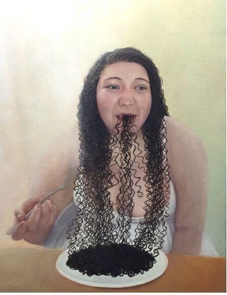 Hyemi Cho, 'Squid pasta', 2015