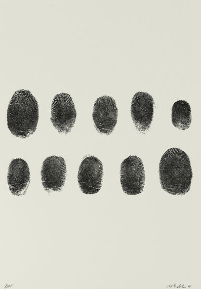 Mike Bidlo, 'Not Manzoni (Impronte, 1960)', 2015