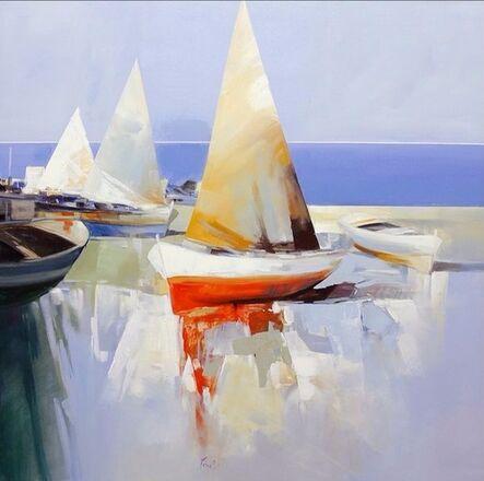 Pietro Piccoli, 'Composizione con Vele (Sailboats)', 2013