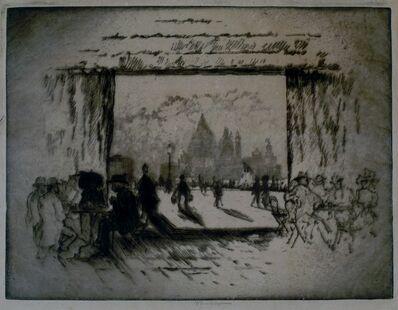 Joseph Pennell, 'Cafe Orintale, Venice', 1911