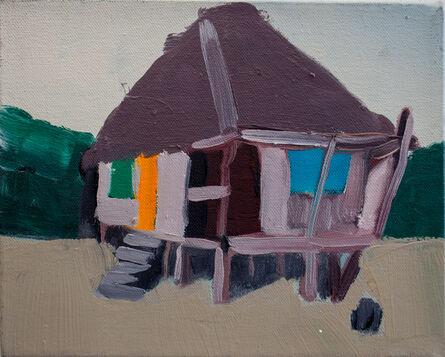 Melora Griffis, 'beach hut /1', 2016