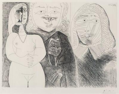 Pablo Picasso, 'Pl. 132, from La Series 156', 1971
