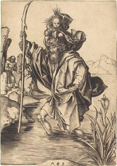 Martin Schongauer, 'Saint Christopher', ca. 1475/1480