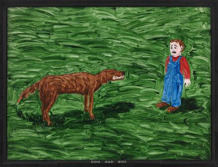 Neil Jenney, 'Dog and Boy', 1969