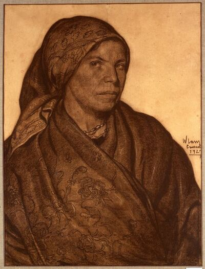 Wifredo Lam, 'Campesina castellana', 1927