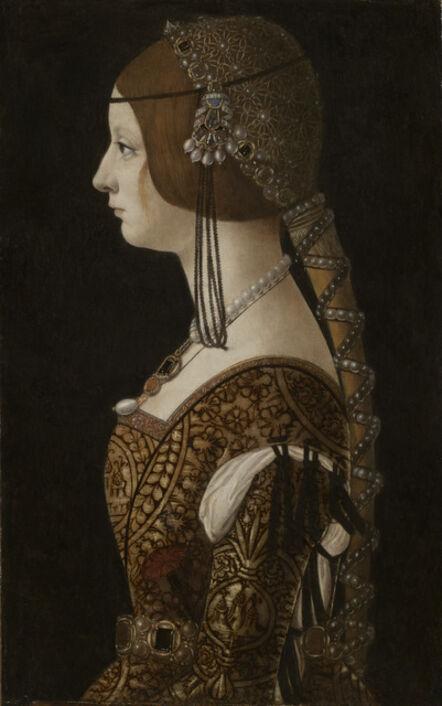 Ambrogio de Predis, 'Bianca Maria Sforza', probably 1493