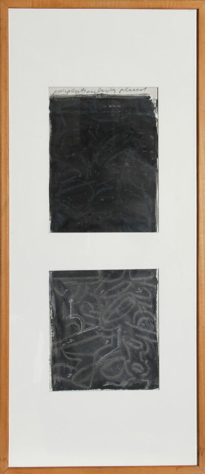 Chryssa, 'Perpeticularly Placed', 1987