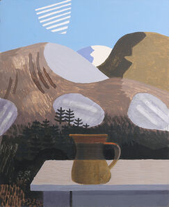 Kenneth Rowntree, 'Jug in the Highlands', 1988