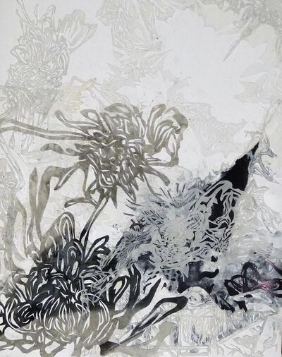 YoAhn Han, 'Landscape with Chrysanthemum I', 2015