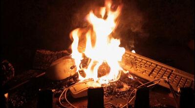 exonemo, 'Fireplace', 2014