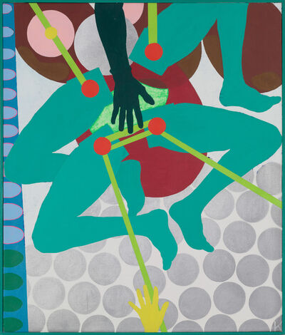 Kiki Kogelnik, 'Green Machine', ca. 1964