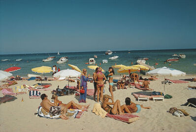 Slim Aarons, 'Saint-Tropez Beach', 1971