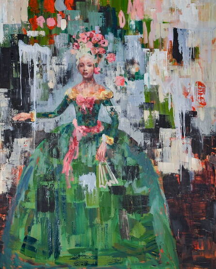 Rimi Yang, 'Rose, Rose', 2017