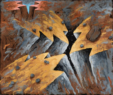 Louisa Chase, 'Crevice', 1982