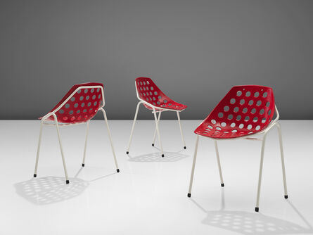 Pierre Guariche, 'Coquillage Chairs', 1960s