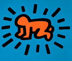 Keith Haring, 'Radiant Baby', 1990