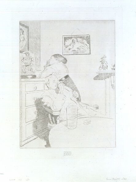 Walter Richard Sickert, 'Ennui', 1914