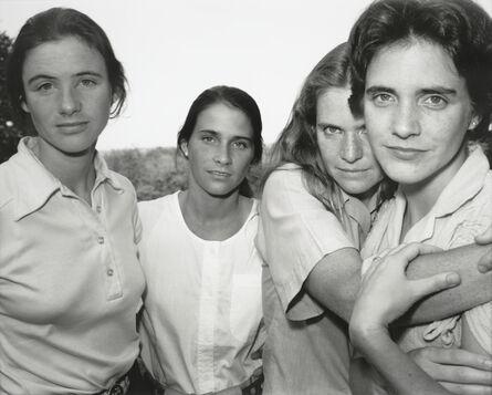 Nicholas Nixon, 'The Brown Sisters, East Greenwich, Rhode Island', 1980