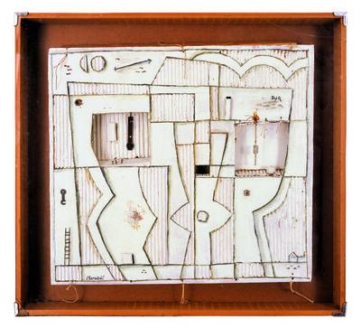 Marta Morandi, 'Barco con formas constructivas'