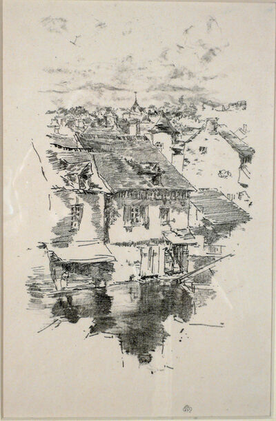 James Abbott McNeill Whistler, 'VITRE - THE CANAL', 1893