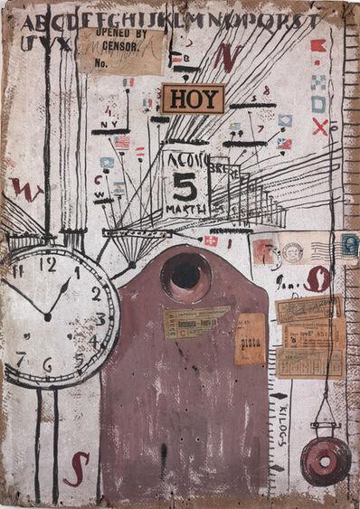 Joaquín Torres-García, 'Hoy (Today)', 1919