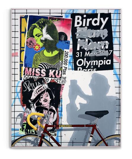FAILE, 'Birdy in Paris', 2020