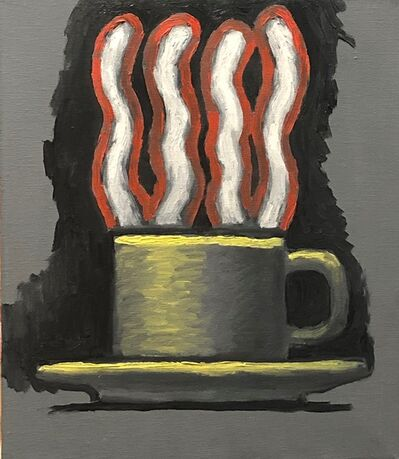 Aaron Fink, 'Steaming Cup', ca. 1985