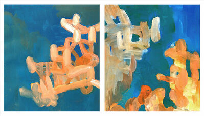 Ann Marie Nafziger, 'Marigold of the Moment (diptych)', 2016