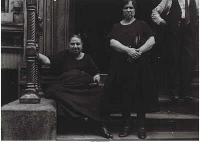 Ben Shahn, 'Untitled (Two women on a stoop)', 1933