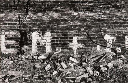 Walker Evans, 'New York City Yard', 1962
