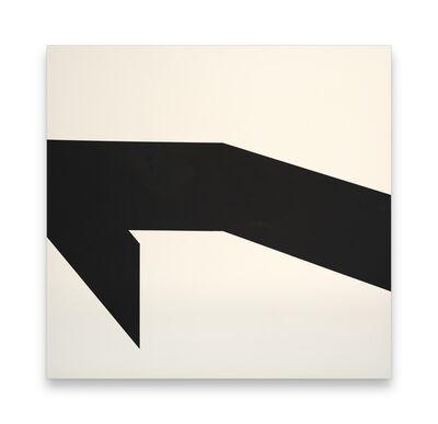 Jeff Kellar, 'Wall Black White 2', 2020