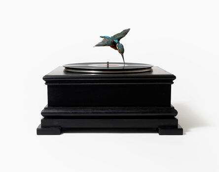 Nancy Fouts, 'Bird on Record Player', 2012