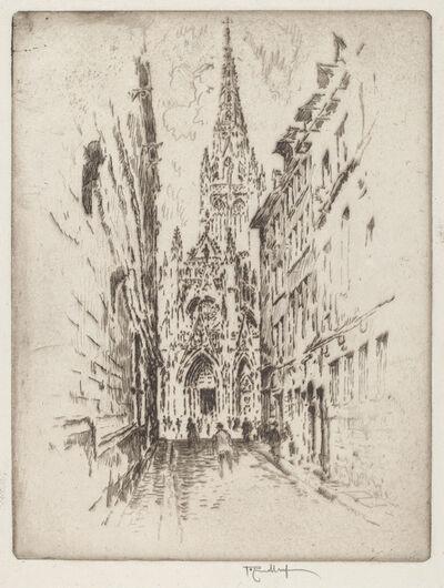 Joseph Pennell, 'San Maclou, Rouen', 1907