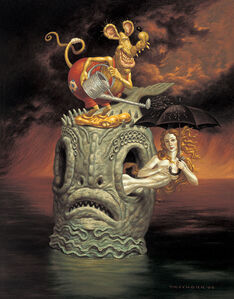 Todd Schorr, 'Lost at Sea', 2005