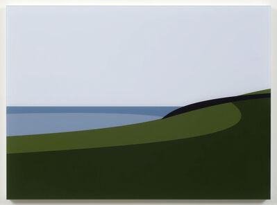 Julian Opie, 'Lantivet Coast. From Cornish Coast 2', 2017