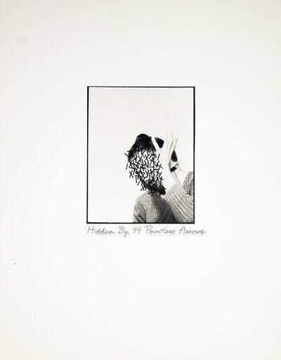 Roberta Allen, 'Hidden By 94 Pointless Arrows', 1976