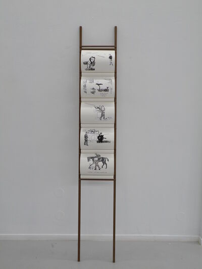 Falke Pisano, 'Repetition and Dispersion - 4 jokes become 5 jokes (crime)', 2013