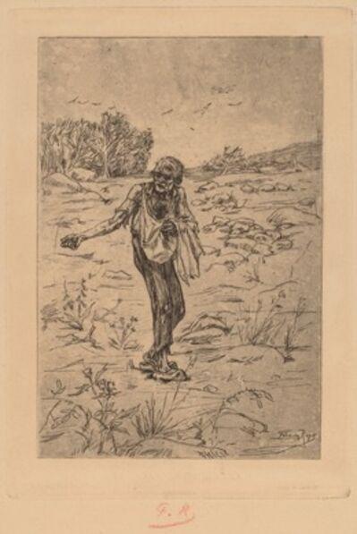Félicien Rops, 'The Parable of the Sower (Le Semeur de Paraboles)', 1876